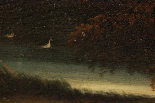 Dipinto olio su tela autore Jan Frans Van Bloemen, fine XVII-18