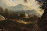 Dipinto olio su tela autore Jan Frans Van Bloemen, fine XVII-2