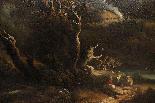 Dipinto olio su tela autore Jan Frans Van Bloemen, fine XVII-4