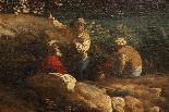 Dipinto olio su tela autore Jan Frans Van Bloemen, fine XVII-16