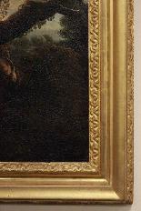 Dipinto olio su tela autore Jan Frans Van Bloemen, fine XVII-8