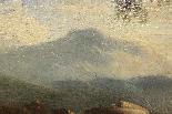 Dipinto olio su tela autore Jan Frans Van Bloemen, fine XVII-19