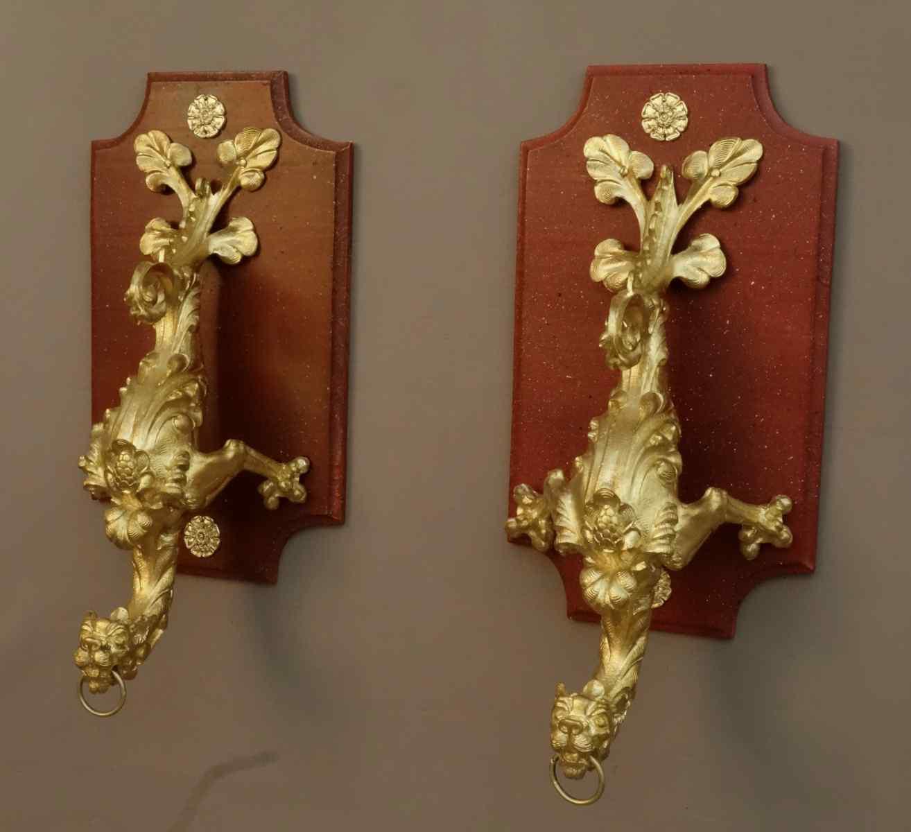 Série De Très Importants Portes Embrasse XIXème