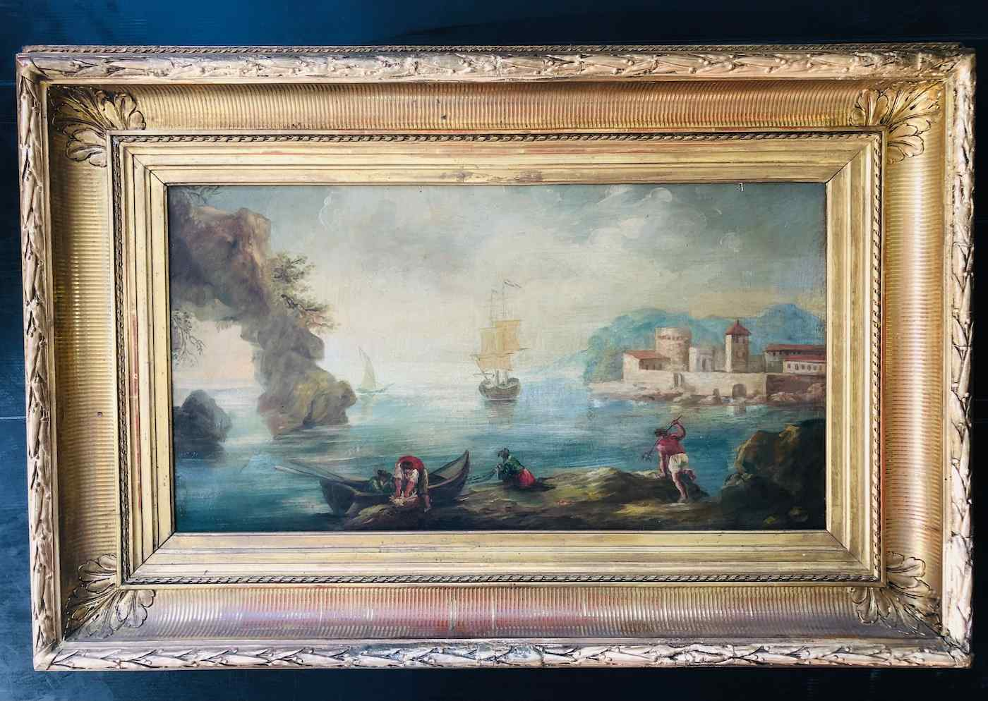 Henry d'Arles 1734-1784 Marine Picturesque