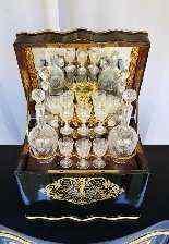 Completo da liquore, Francia XIX secolo-4