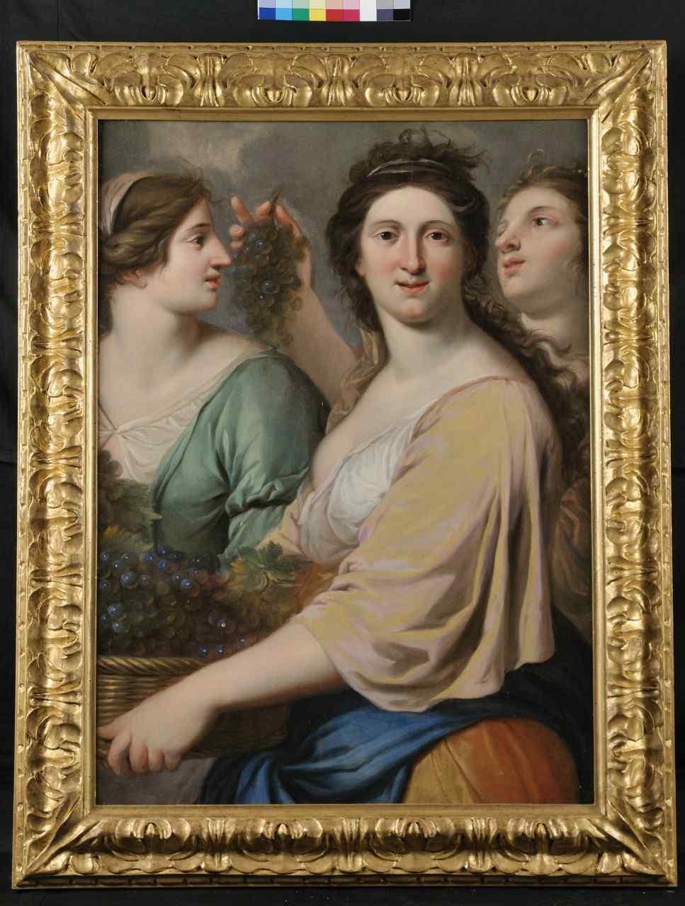 Scuola Francese XVII secolo, le tre grazie