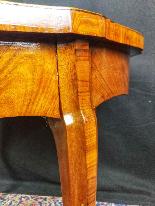 Tavolino Italiano Stile Luigi XV del XIX Secolo-0