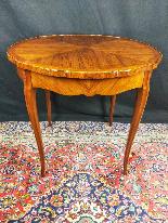 Tavolino Italiano Stile Luigi XV del XIX Secolo-2