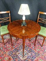 Tavolino Italiano Stile Luigi XV del XIX Secolo-3