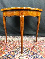 Tavolino Italiano Stile Luigi XV del XIX Secolo-4
