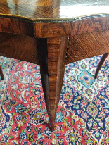 Tavolino Italiano Stile Luigi XV del XIX Secolo-5