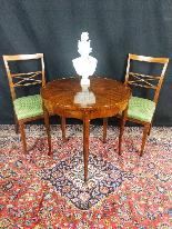 Tavolino Italiano Stile Luigi XV del XIX Secolo-6