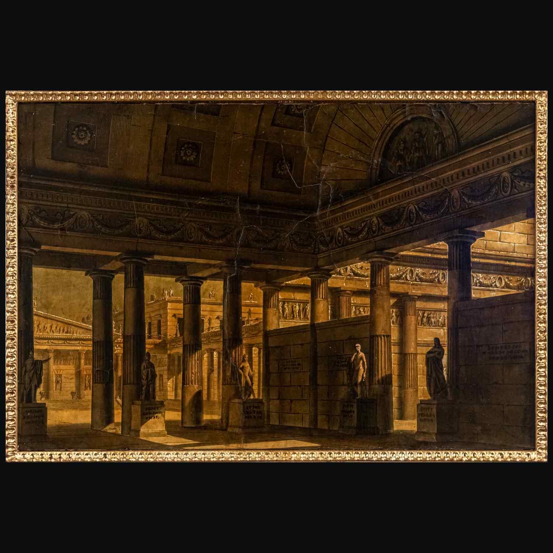 Veduta dell'antica Grecia, Alessandro Sanquirico