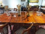 Tavolo da Sala Vittoriano in Mogano XIX Secolo-3
