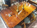 Tavolo da Sala Vittoriano in Mogano XIX Secolo-4