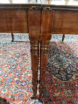 Tavolo da Sala Vittoriano in Mogano XIX Secolo-9