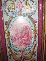 Antica stufa in maiolica, XIX secolo-6