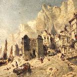 Luigi Deschamps (XIX-XX), olio su tavola