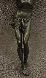 Grande Cristo Bronze XIX Secolo-1