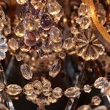 Lustre aux fruits en cristal taillé et bronze doré, XIXe-8