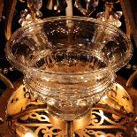 Lustre aux fruits en cristal taillé et bronze doré, XIXe-4