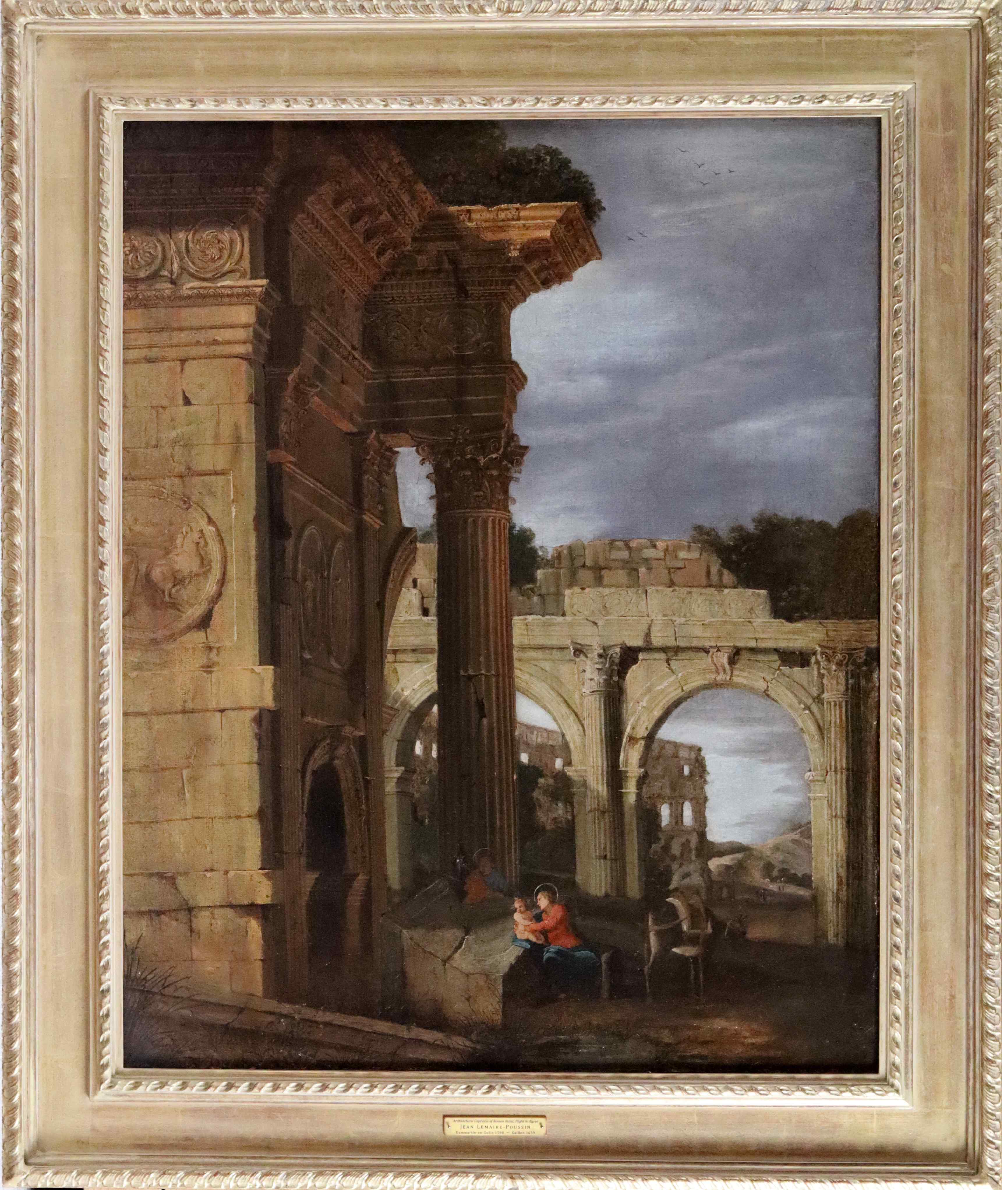 Capriccio architettonico di rovine romane