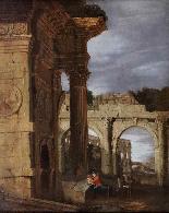 Capriccio architettonico di rovine romane-0
