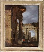 Capriccio architettonico di rovine romane-1