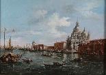 Scene del canale veneziano, una coppia-0