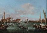 Scene del canale veneziano, una coppia-1
