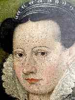 François Quesnel 1543-1616 seguace di Ritratto di dama con c-9