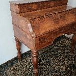 Antico Bureau Scrittoio a Ribalta Luigi Filippo-2