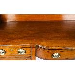 Antique George III Mahogany and Line Inlaid Sideboard-1