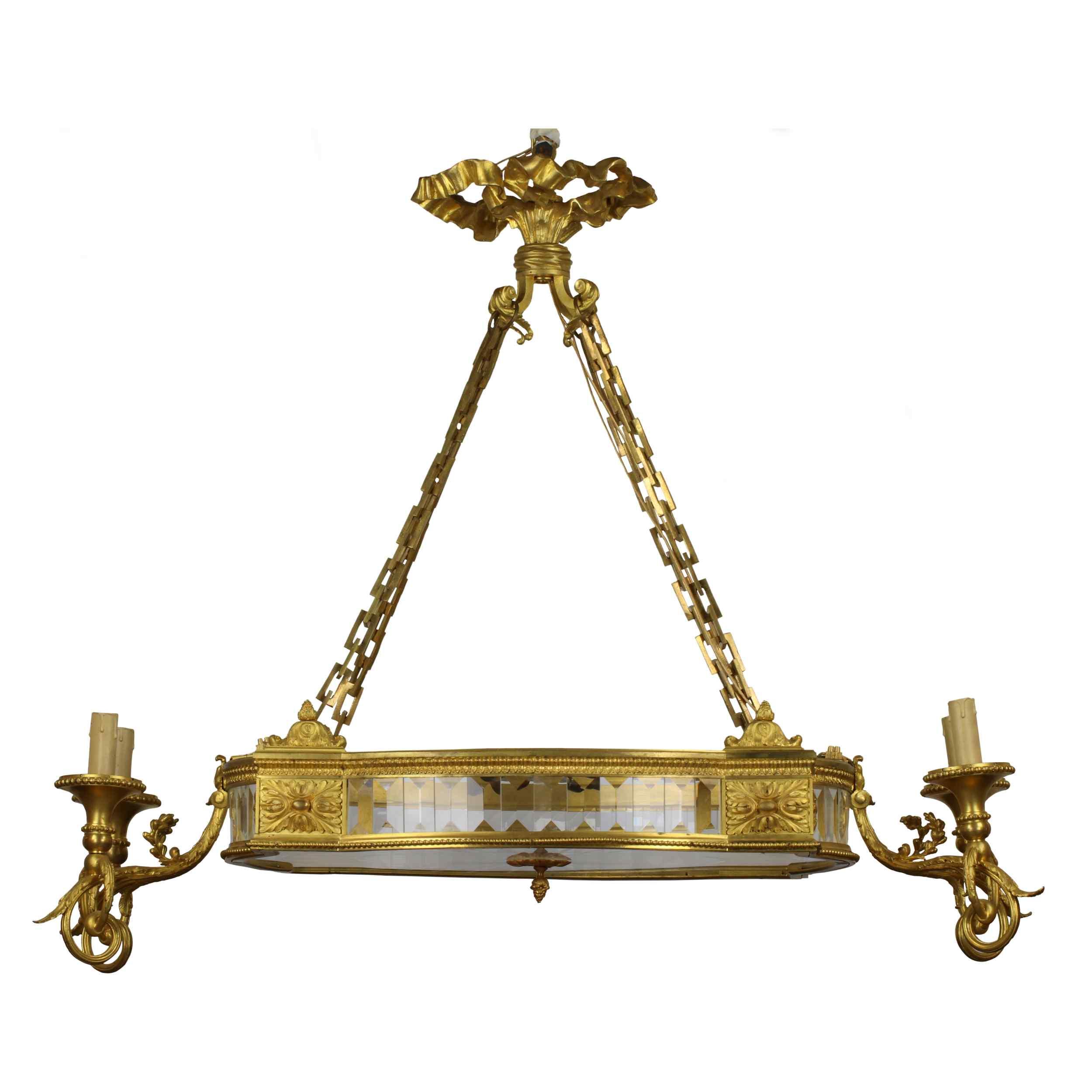 Lustre de style Napoléon III