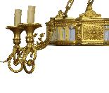 Lustre de style Napoléon III-4