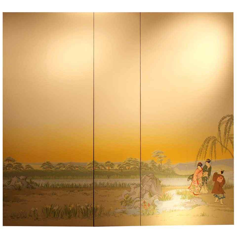 Zuber papier Peint Panoramico Giardino Giapponese, inizi XX