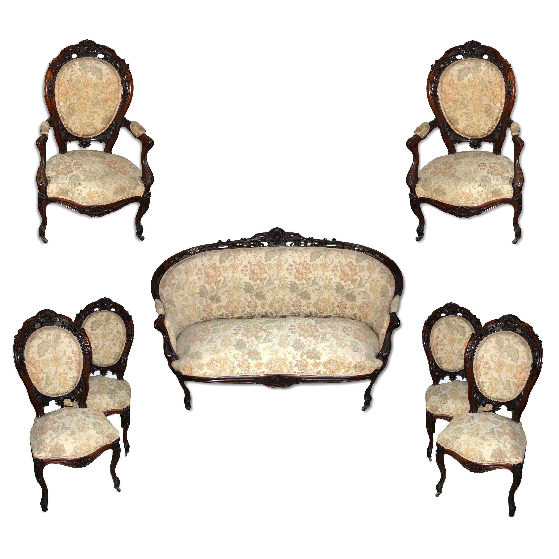salotto antico xix secolo