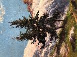 Dipinto Raffigurante Montagne Innevate Leonardo Roda-3
