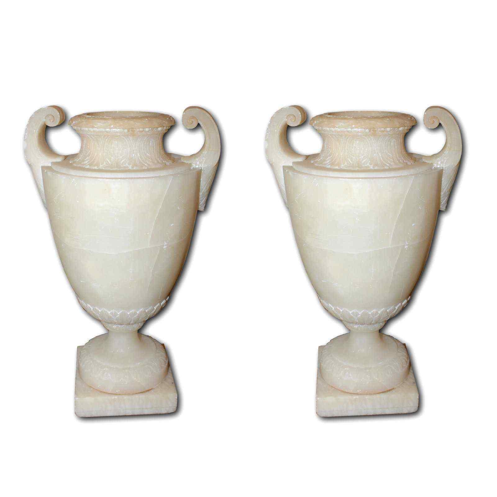 coppia di vasi antichi xix secolo