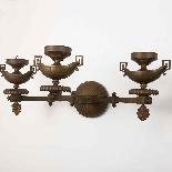 Coppia di applique in bronzo, XIX secolo-2