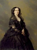 La Principessa Kotschoubey F.X. Winterhalter 1850c.-14