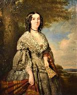 La Principessa Kotschoubey F.X. Winterhalter 1850c.-0