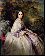 La Principessa Kotschoubey F.X. Winterhalter 1850c.-17