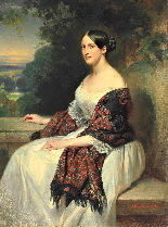 La Principessa Kotschoubey F.X. Winterhalter 1850c.-15