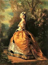La Principessa Kotschoubey F.X. Winterhalter 1850c.-16