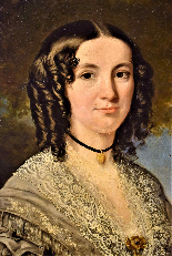 La Principessa Kotschoubey F.X. Winterhalter 1850c.-6