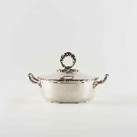 Piatto per verdure in argento, XX secolo-4