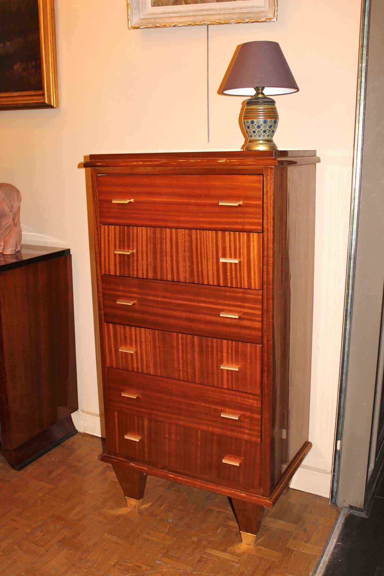 1940 Mahogany Commode
