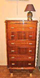 1940 Mahogany Commode-3