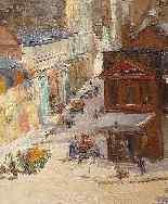 Veduta di Montmartre di Abel Truchet Belle Epoque-1